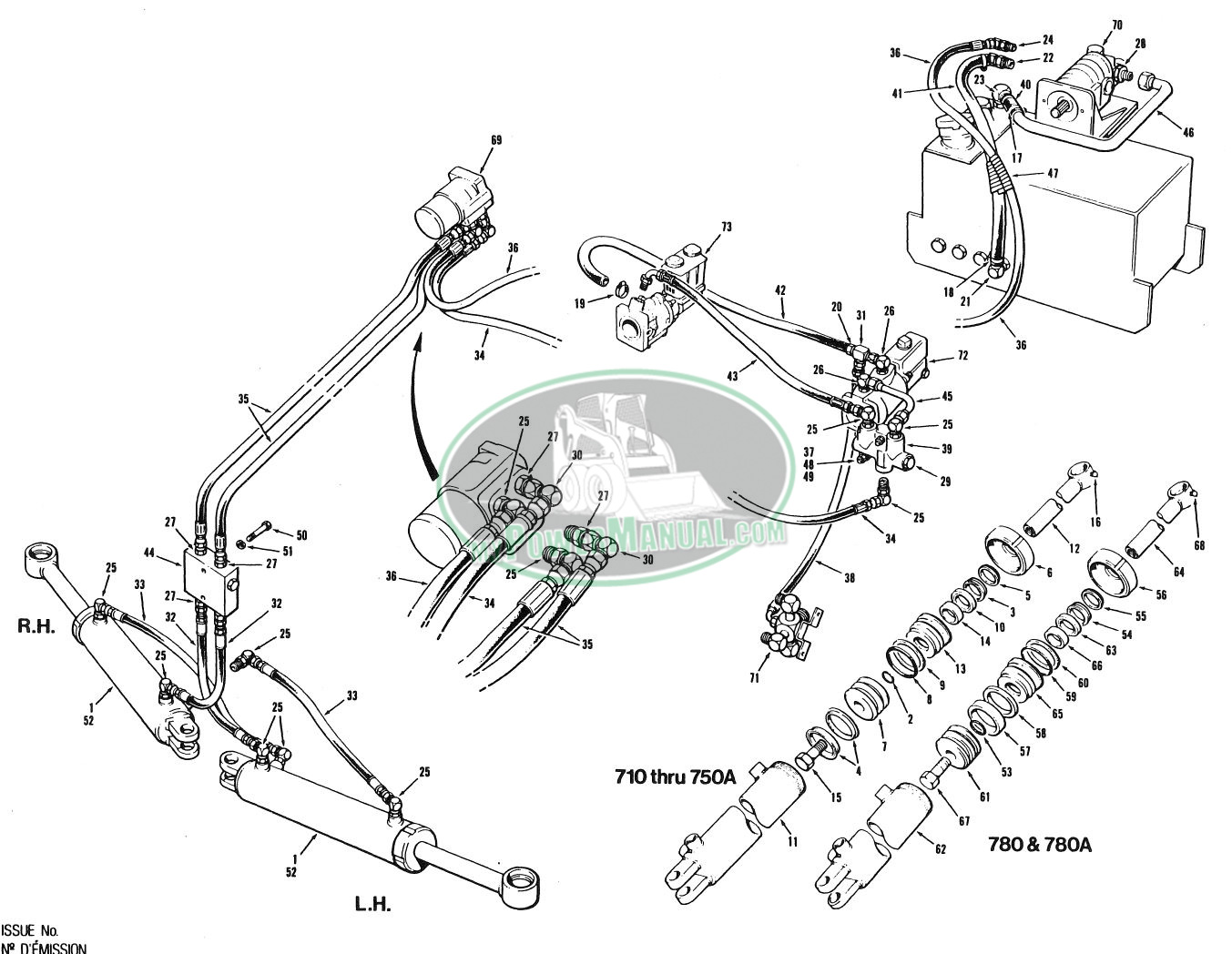 Champion 700 Series 4 and 5 Motor Grader Parts Manual