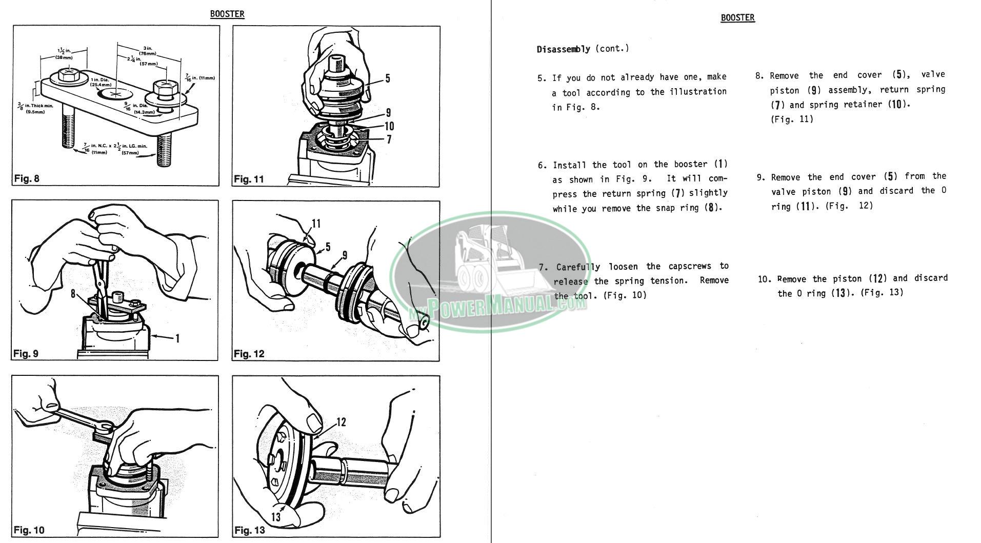 Champion 710, 720, 730, 740, 750, 760, 780 Motor Grader Service Manual