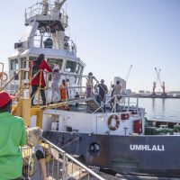 SA Navy Ships Open to Public at Durban Port Festival