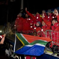 SOUTH AFRICANS CELEBRATE VICTORIES AS FIRST CLIPPER 2017-18 ROUND THE WORLD YACHT RACE TEAMS ARRIVE INTO CAPE TOWN