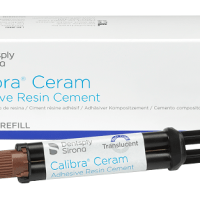 Calibra® Ceram and Calibra® Universal are adhesive and self-adhesive resin cements from Dentsply Sirona SA