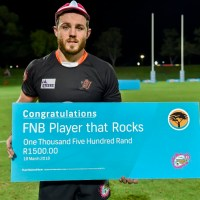 Hard work pays off for UJ rugby star