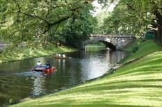 Canals around old Riga