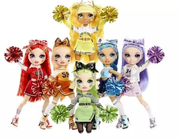 Rainbow High Cheer Dolls