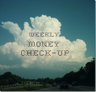 weekly money check-up