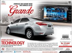 Toyota Corolla Altis 1.8 Grande 2021 Price in Pakistan Features