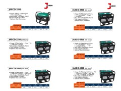 Jasco Generator Price in Pakistan Gas/Petrol/Diesel Lahore Karachi Islamabad