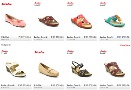 BATA Shoes Collection 2021 For Womens Ladies Girls With Price in Pakistan