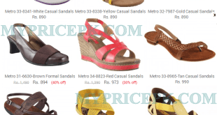 Metro Shoes For Ladies/Womens/Girls Collections 2015 With Price in Pakistan