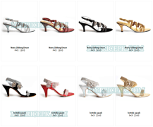 Metro Shoes Women/Girls High Heel Collection in Pakistan with Price
