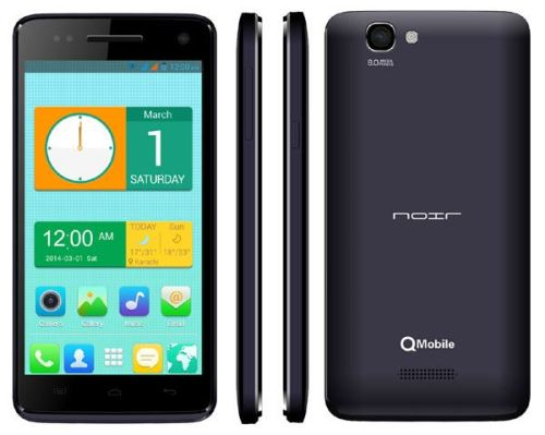 Qmobile Noir i9 QuadCore Mobile Price in Pakistan Specification Features Review