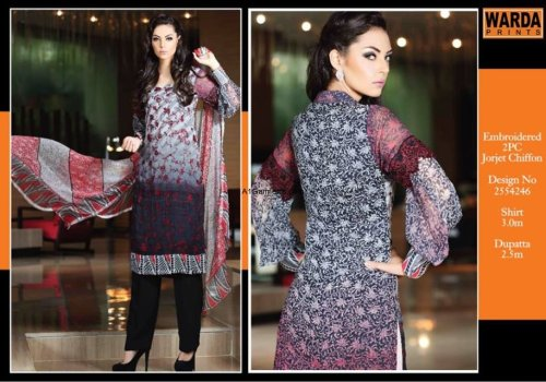 Warda New Summer Lawn Prints Eid 2016 Dresses of Collection Styles and Price