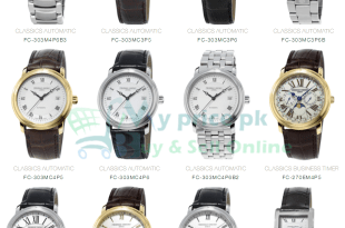 Frederique Constant Slimline Manufacture Moonphase Gents/Men watches Specs Price & Shape in Pakistan