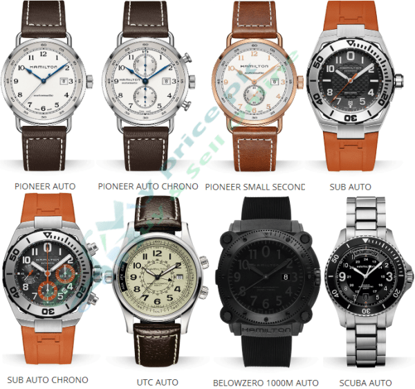 Hamilton Khaki Navy Sub Auto Chrono Gents/Men watches Shape Specs Price in Pakistan Pictures