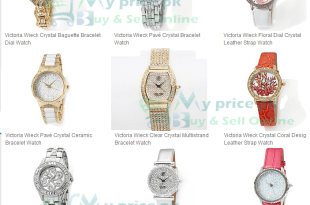 Victoria Wieck Hidden Watch Crystals Ladies/Female Watches Best Products Price in Pakistan with Specs Shape