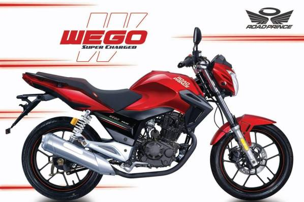 Road Prince 150cc Wego New Model 2016 Launched Specification Mileage and Features with Pictures