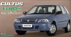 New Suzuki Cultus Euro II CNG 2021 Model Launch Date Price Features