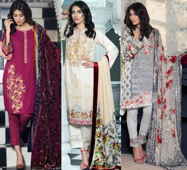 Alkaram Ladies Winter Dresses Collection Price in Pakistan Latest Women Fashion 2017