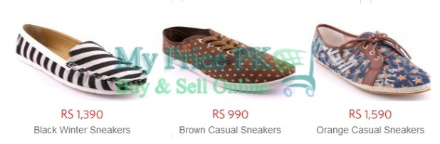 Stylo Ladies Shoes Sneaker New Designs For Winter 2016 Price In Pakistan Colors Reviews