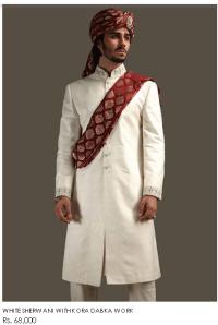 Deepak Perwani Men's Dresses Collections For Wedding Designs Colors