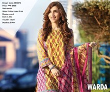 Warda New Summer Lawn Prints Eid 2017 Dresses of Collection Styles and Price