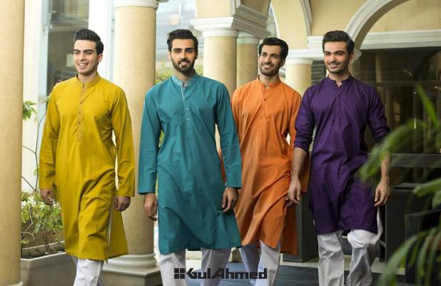 Gents Summer Dresses and New Designs By Gul Ahmed Colorful Collection Price In Pakistan