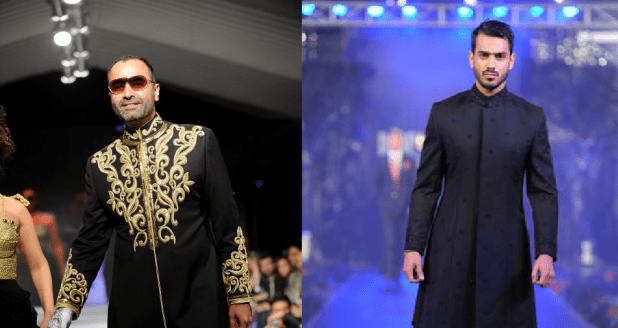 Menswear Sherwani Summer Collections By Ammar Belal Colorful Design Price