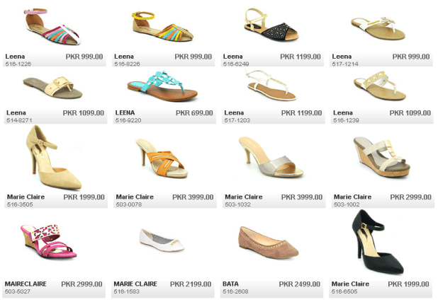 Leena Marie Claire New Arrivals For Summer By Bata Ladies Shoes Collections With Price