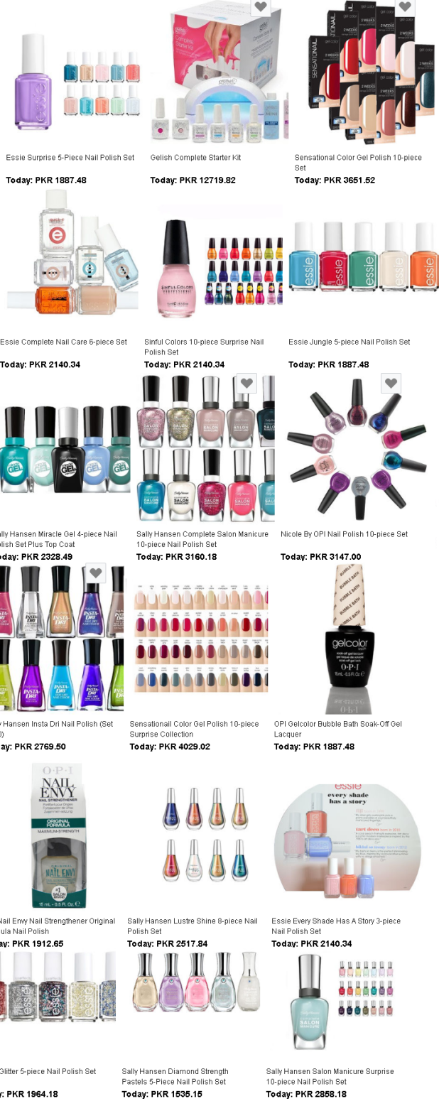 Nail Polish Price in Pakistan Company wise and Nail Paint Designs and Colors
