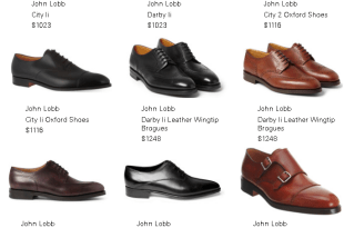 John Lobb Dress Boots and Lace Up For Gents Summer Shoes Collections With Price