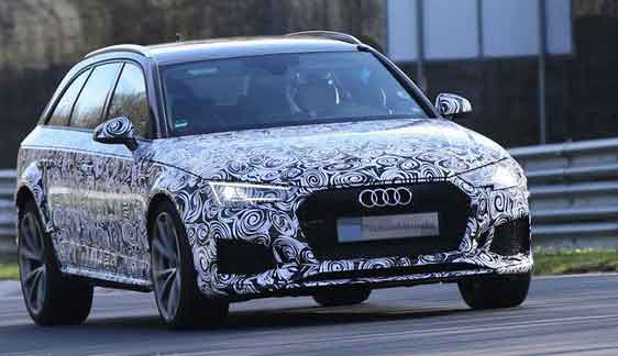 Audi RS4 Avant Model 2017 New Shape Car Price and Specification Review Colors