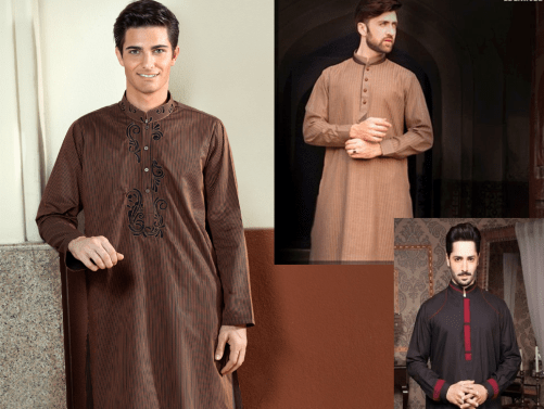 Gents Outfitters Summer Menswear Latest Kurta Shalwar Kameez New Designs and Collection with Price
