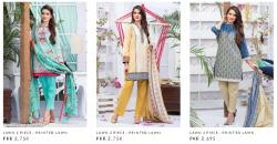 Alkaram Ladies Summer Cotton Silk Chikan Kari New Designs 2021 Suits and Prints
