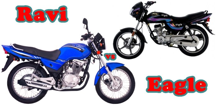 Eagle Motorbike New Model 2016 vs Ravi Motorcycle New Model 2016 Feature Specs Price
