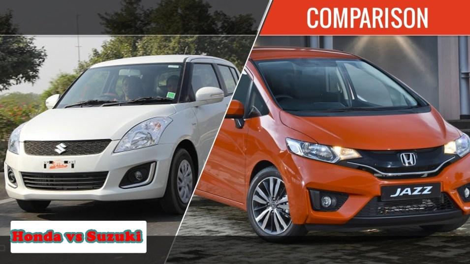Cars Comparison: Honda Car New Models 2017 VS Suzuki New Models 2017 Specifications Price Colors