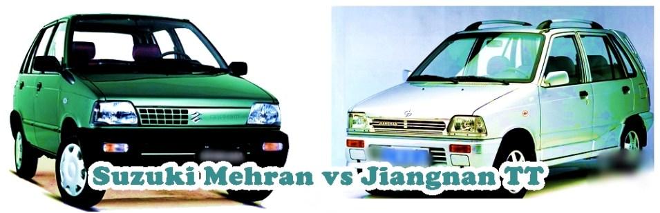 Jiangnan TT New China Mehran Vs Suzuki Mehran in Pakistan Price Specs Features