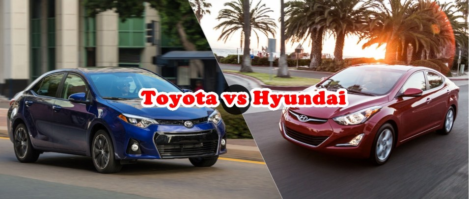 Cars Comparison: New Toyota Corolla Cars Models 2017 VS Hyundai Upcoming Models 2017 Specs Features Price Photos