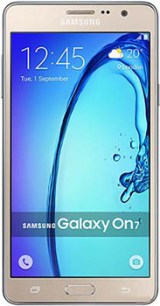 Samsung Galaxy On7 Pro Mobile Price and Specifications Images