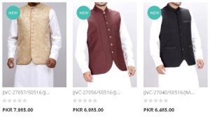 Upcoming Winter J. Waistcoat By Junaid Jamshed New Colors Stuff Price In Pakistan
