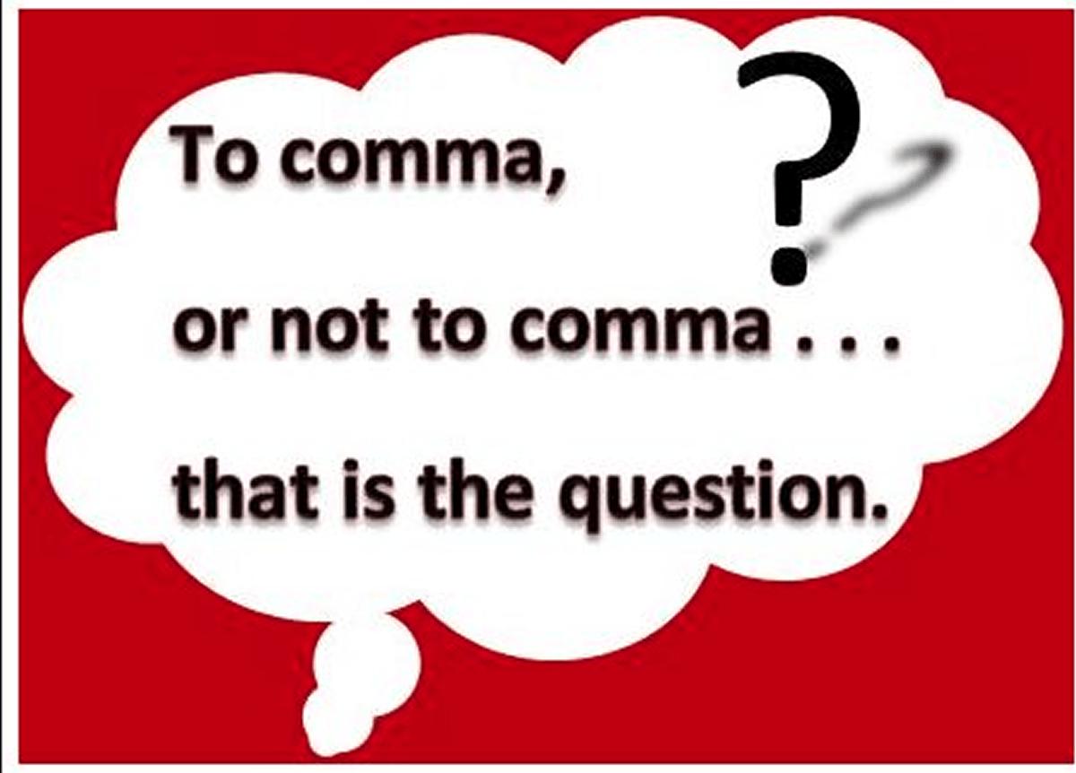 Commas: General usage…