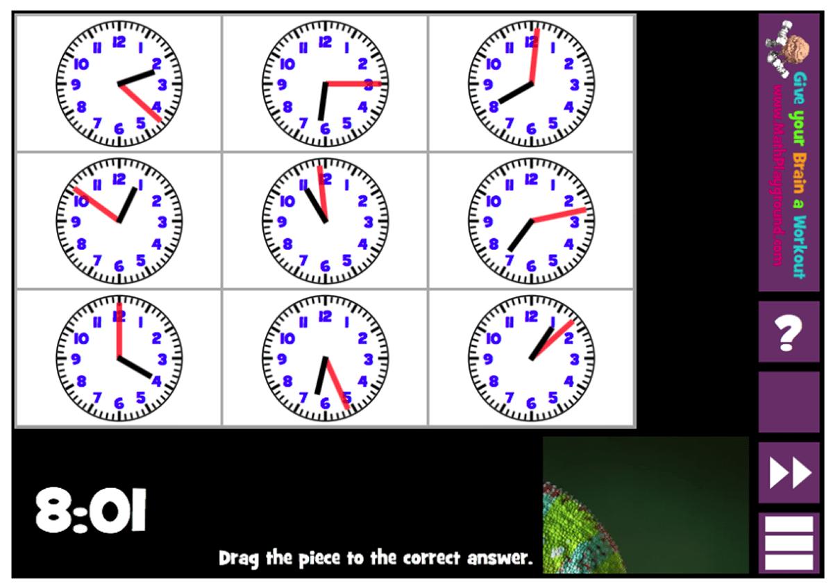 analog time digital time