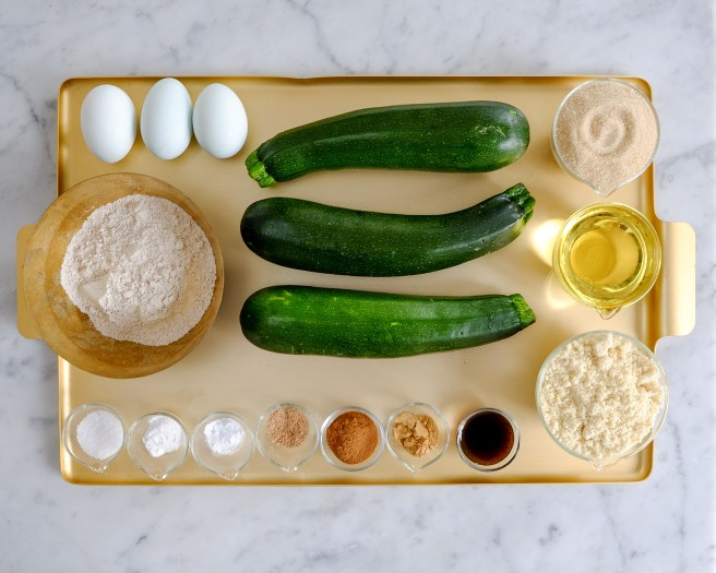 Courgette Cake Ingredients
