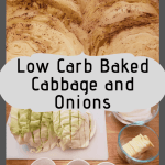 Baked Cabbage and Onions