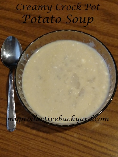 Creamy Crock Pot Potato Soup