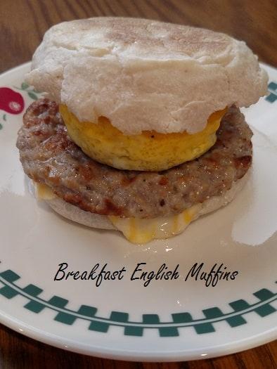 Breakfast English Muffins
