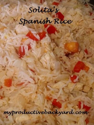 Solita's Spanish Rice