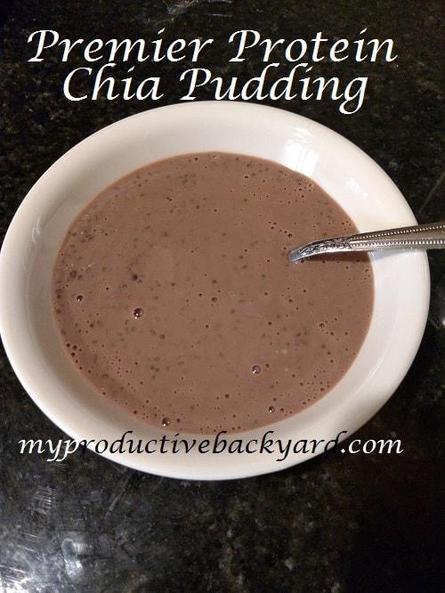 Premier Protein Chia Pudding