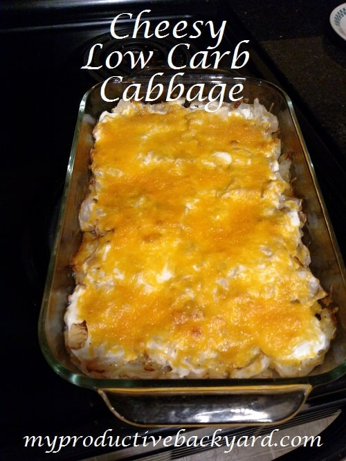 Cheesy Low Carb Cabbage