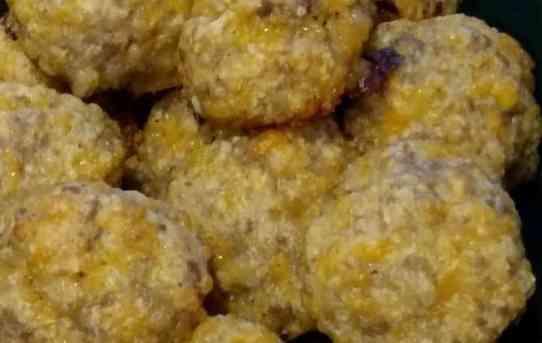 Low Carb Gluten Free Sausage Balls