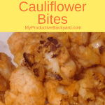 Low Carb Buffalo Cauliflower Bites